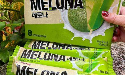 雪綿口感超讚! 韓國熱銷「哈密瓜雪糕」台灣也買得到 超濃哈味一口就愛上