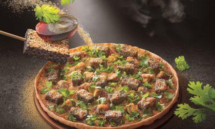 最狂台味比薩! 必勝客「香菜皮蛋豬血糕比薩」 無敵混搭風「再尬花生粉」還原夜市口味